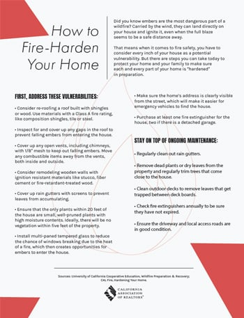 How to fire-harden your home