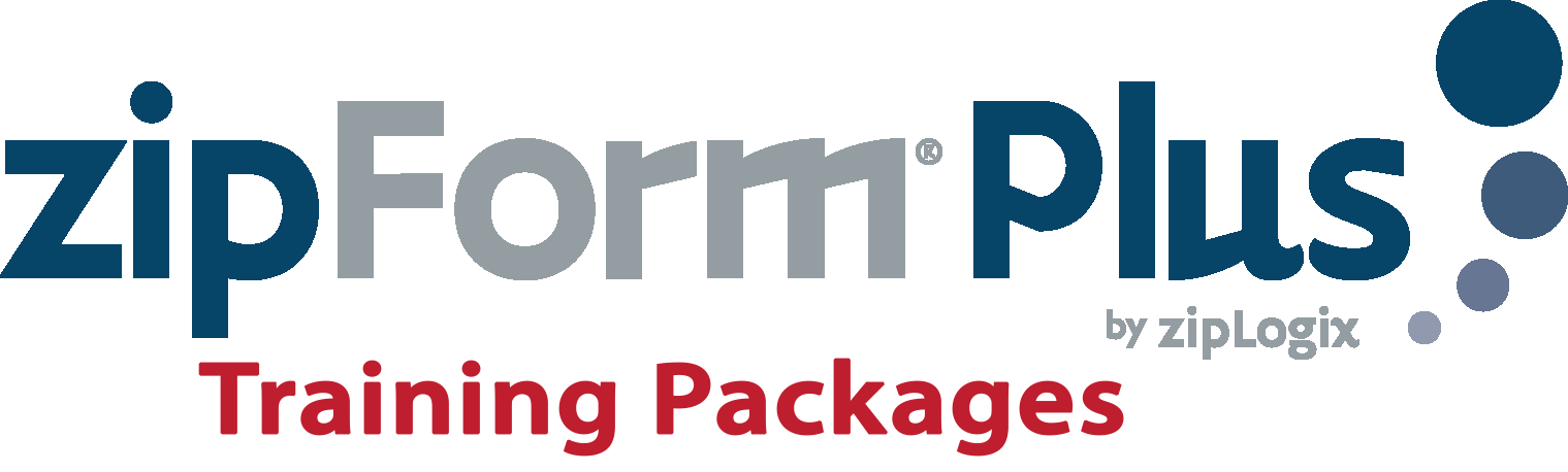 zipForm® Plus Office Training Packages