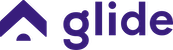Glide logo purple